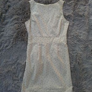 Hourglass [Vintage]   Eyelet Floral Dress